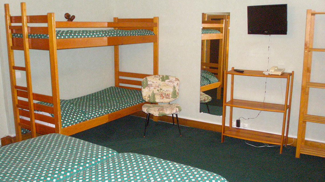 Chambre confort+ - 4 personnes