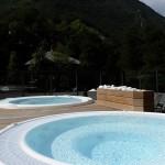 Jacuzzi exterieur - Grand Spa Alpes