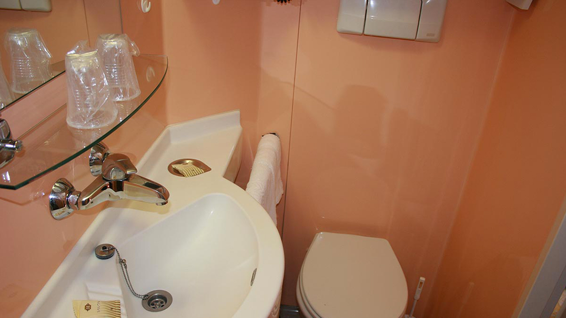 Chambre standard - Cabine de douche